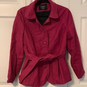 LL Bean Magenta Women's Jacket